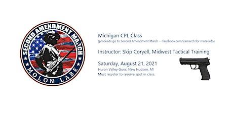 Michigan CPL Class to Benefit Second Amendment March tickets