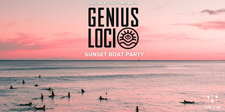 Genius Loci Sunset Boat Party II tickets