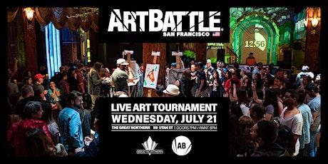Art Battle San Francisco - July 21, 2021 tickets