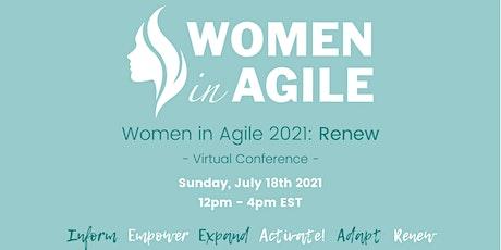Women in Agile 2021 Online biglietti