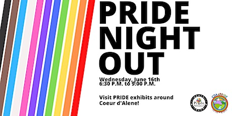 Pride Night Out: Arts & Culture Crawl tickets