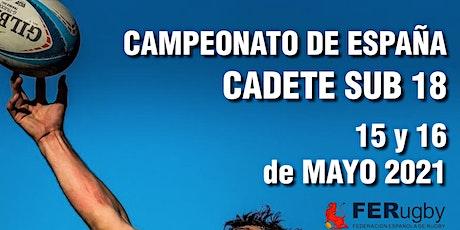 Campeonato de España S18, domingo 16/05/2021, Sant Cugat del Vallés entradas