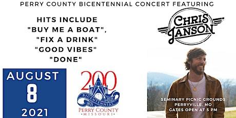 Perry County Bicentennial Concert featuring Chris Janson tickets