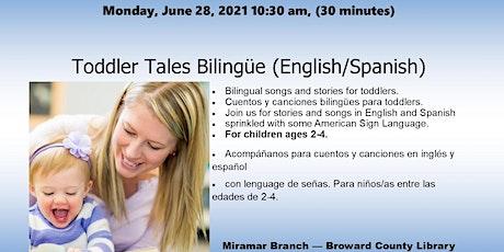 Toddler Tales Bilingüe (English/Spanish) entradas