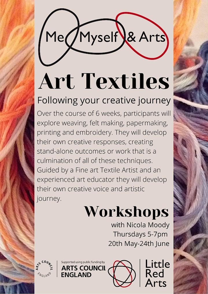 Art Textiles: Following your creative  journey - Me, Myself & Arts - Luton image