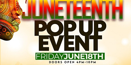 Pre Juneteenth Pop Up Event tickets