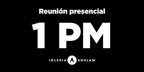 Reunión 1 PM boletos