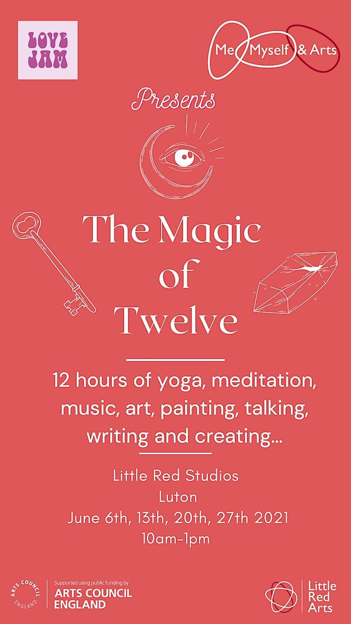 The Magic of 12 - Me, Myself and Arts - Luton image
