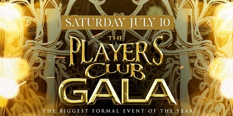 The Players Club Gala tickets