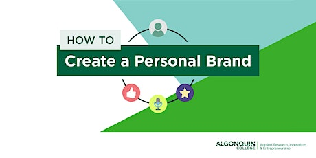 How to Create a Personal Brand tickets