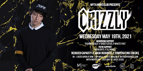 Crizzly Live at Myth Nightclub | Wednesday 5.19.2021 tickets