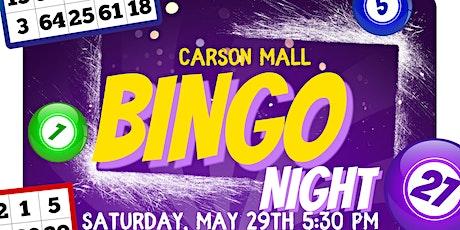 Copy of Carson Mall Family Bingo night in-person!!!! tickets