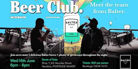 Brew Club featuring Balter tickets