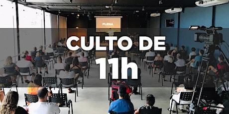 11h - Culto Presencial - Igreja Plena Oceânica - 16/05/2021 ingressos