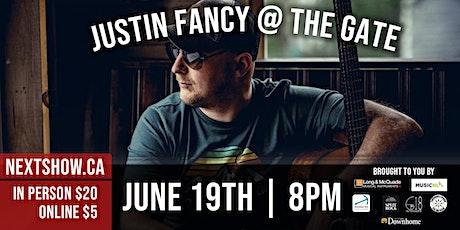Nextshow.ca Presents Justin Fancy tickets