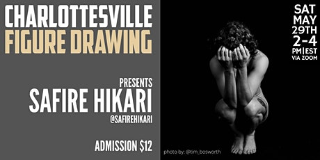 Online Figure Drawing with Safire Hikari tickets