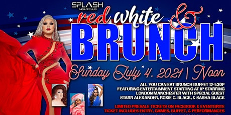 Red White & Brunch - 4th of July Drag Brunch tickets