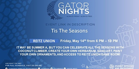 GatorNights Presents: 'Tis the Seasons tickets