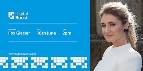 Digital Boost Workshop with Digital Ambassador - Jody Direen tickets