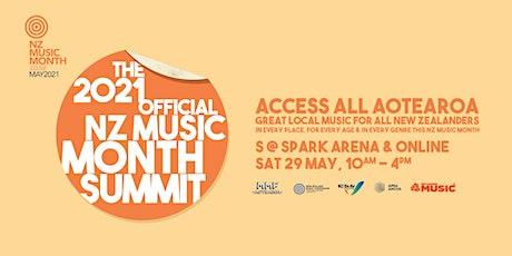 NZ Music Month Summit 2021 tickets