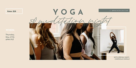 Monthly Meditation & Yoga Night tickets