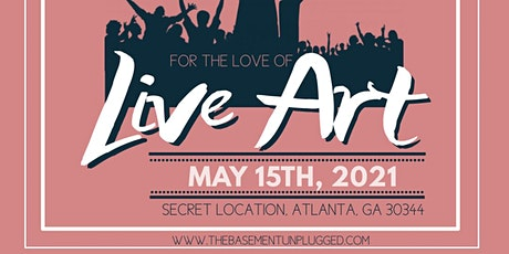 For the Love of Live Art  ft. FREE Andre tickets