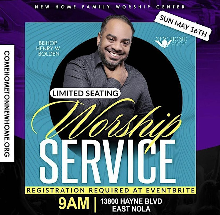 New Home FWC-East  In Person Worship Service image