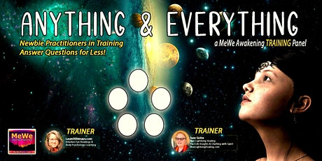 Anything & Everything, a Free Online MeWe Training Panel tickets