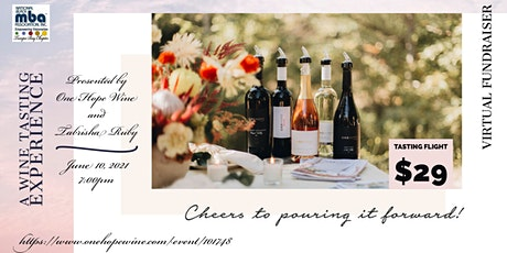 Wine Tasting Experience with One Hope Wines and TBBMBAA tickets