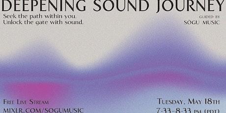 Deepening Sound Journey tickets