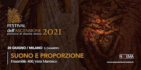 FESTIVAL DELL'ASCENSIONE #4 -20 GIUGNO 21 biglietti