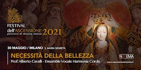 FESTIVAL DELL'ASCENSIONE  #1 -30 MAGGIO 21 biglietti