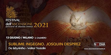 FESTIVAL DELL'ASCENSIONE #3 -13 GIUGNO 21 biglietti