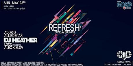 "What's Good Chicago? Presents ""Refresh"" Sunday Brunch 5 tickets"