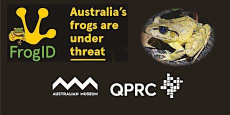 FrogID Bushfire Roadshow hosted by the Australian Museum tickets