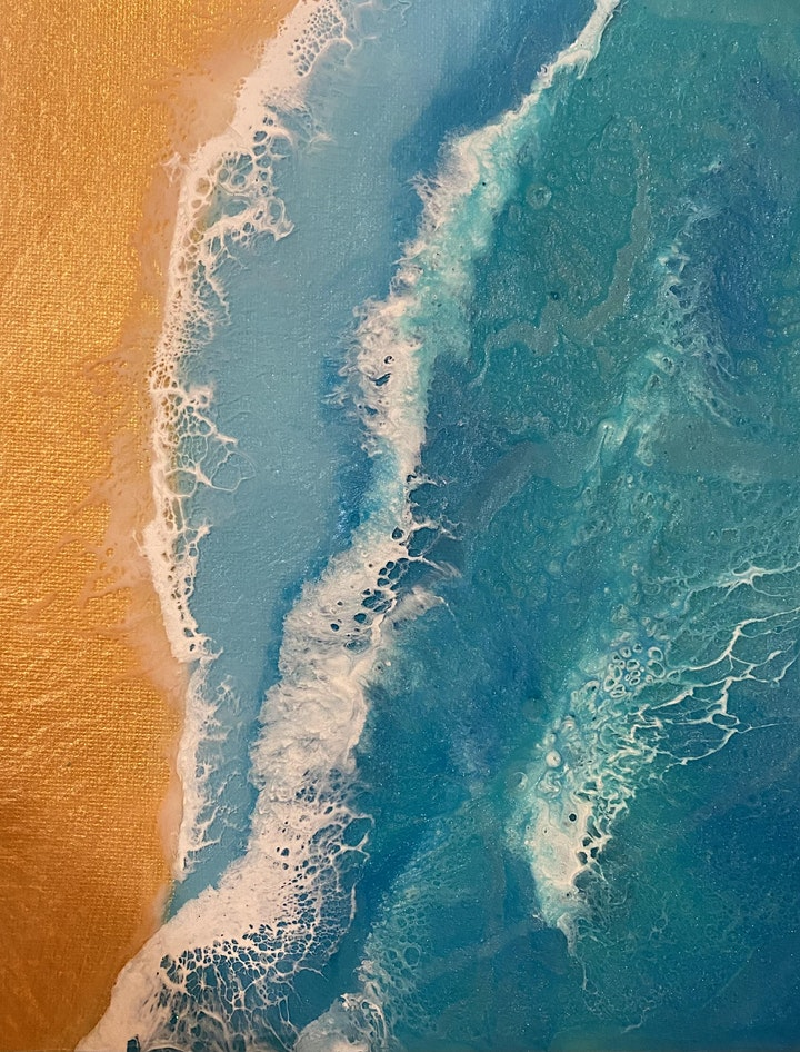 Resin art in the Flinders (18 +beginners)in Quorn change of location *** image