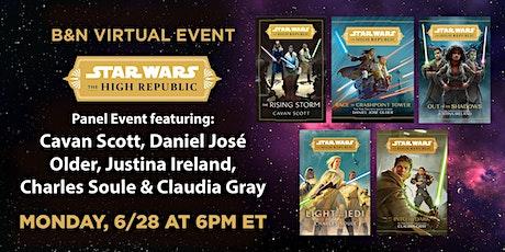 B&N Virtually Presents: Star Wars: The High Republic panel tickets