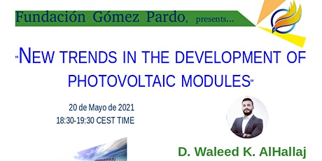 """Webinar """"New trends in the development of photovoltaic modules"""" entradas"""