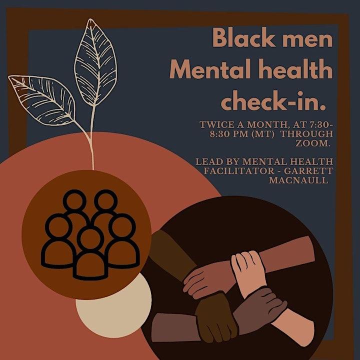 Black men's mental health Check-in image