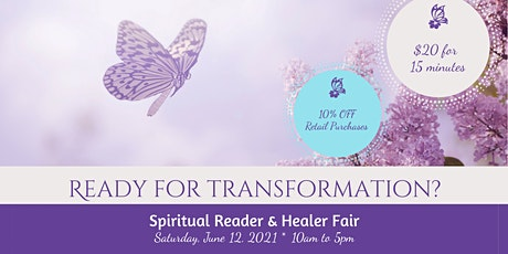 Spiritual Reader & Healer Fair tickets
