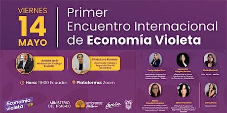 Primer Encuentro Internacional de Economía Violeta entradas