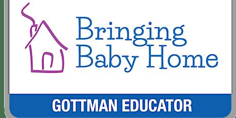 Couples Workshop: Bringing Baby Home (BBH) - by Gottman Certified Educators bilhetes