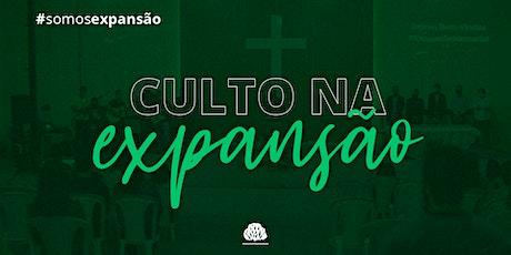 Culto de Adoração (expansão) ingressos