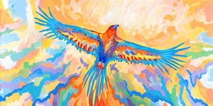 Kids School Holidays 'How to Paint an Eagle' Workshop