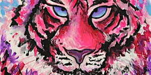 Kids School Holidays 'How to Paint a Tiger' Workshop