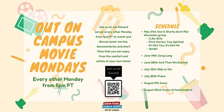 Out On Campus Movie Mondays tickets