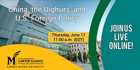 China, the Uighurs, and U.S. Foreign Policy tickets