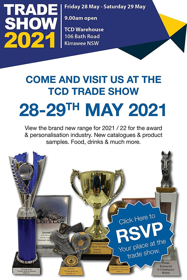TCD Award and Personalisation Trade Show 2021 image