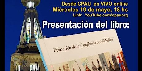 VIVOpresentación libro Evocación Conf. Del Molino en CPAU. Biblioteca AANBA entradas