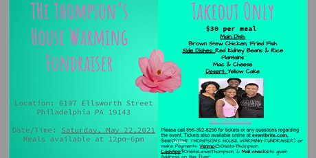The Thompson's House Warming Fundraiser tickets